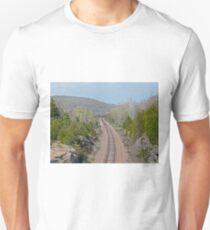 Railroad Tracks to Ironton Unisex T-Shirt