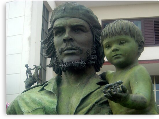 Che Guevara statute by mojgan