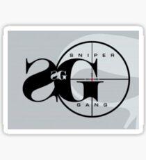 Sniper Gang Sticker Sticker