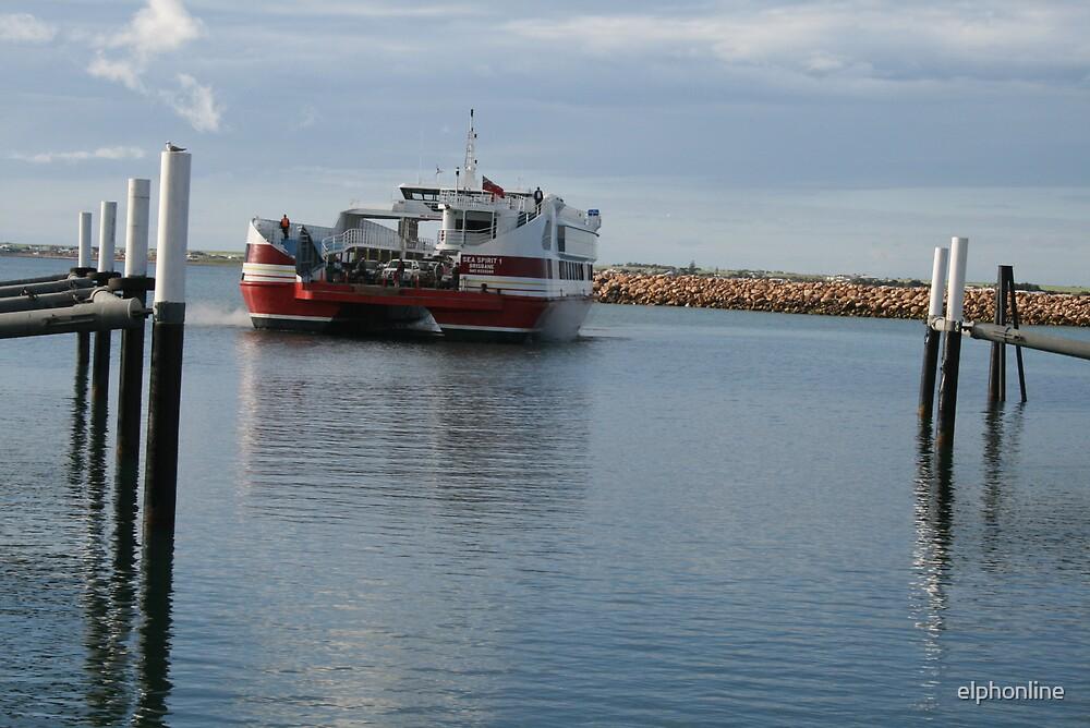 The ferry,Wallaroo, S.A. by elphonline