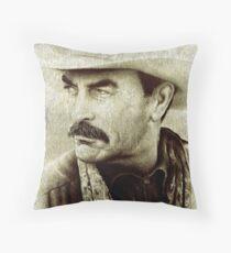 Tom Selleck  Throw Pillow