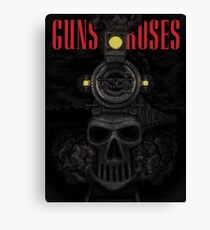 Guns N' Roses newark. NJ 2017 Canvas Print
