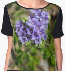 Flowers in the Wild Women's Chiffon Top