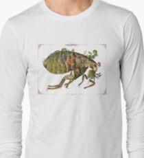 Whimsical Pop Botanical Flea #CreateArtHistory Long Sleeve T-Shirt