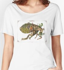 Whimsical Pop Botanical Flea #CreateArtHistory Women's Relaxed Fit T-Shirt