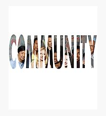 Community - The Greendale seven (Plus Chang) Photographic Print