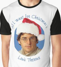 Louis Theroux Christmas edition Graphic T-Shirt