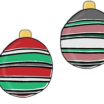 Holiday Ornaments by katsprintbtq