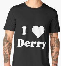 I (HEART) Derry Men's Premium T-Shirt