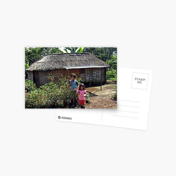 Achuar Sisters Postcard
