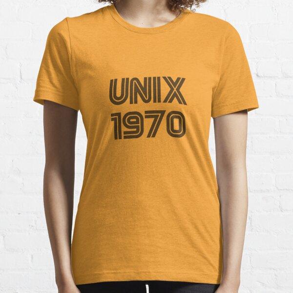 Unix 1970 Essential T-Shirt