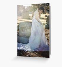 When Spirits Weep Greeting Card