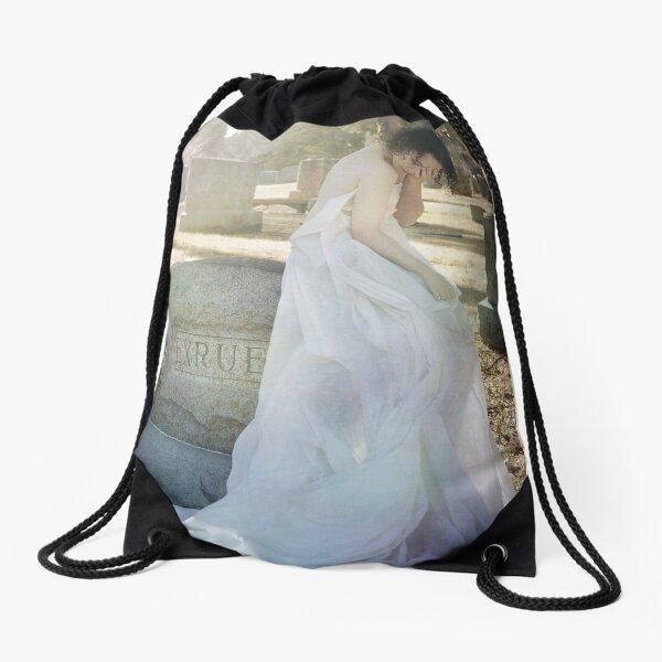 When Spirits Weep Drawstring Bag