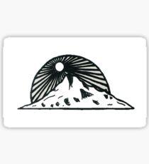 Mt Hood Sunset Sticker