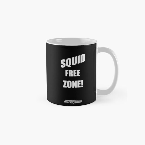 Squid Free Mug on Black Classic Mug