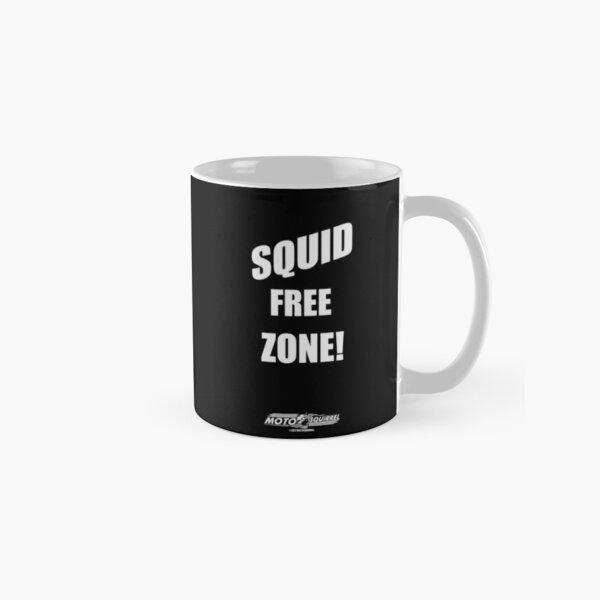 Squid Free Mug on Black Classic Mug