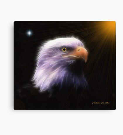 EAGLE LOOKOUT Canvas Print