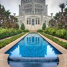 The Baha'i House of Worship - Wilmette, Illinois by Adam Bykowski