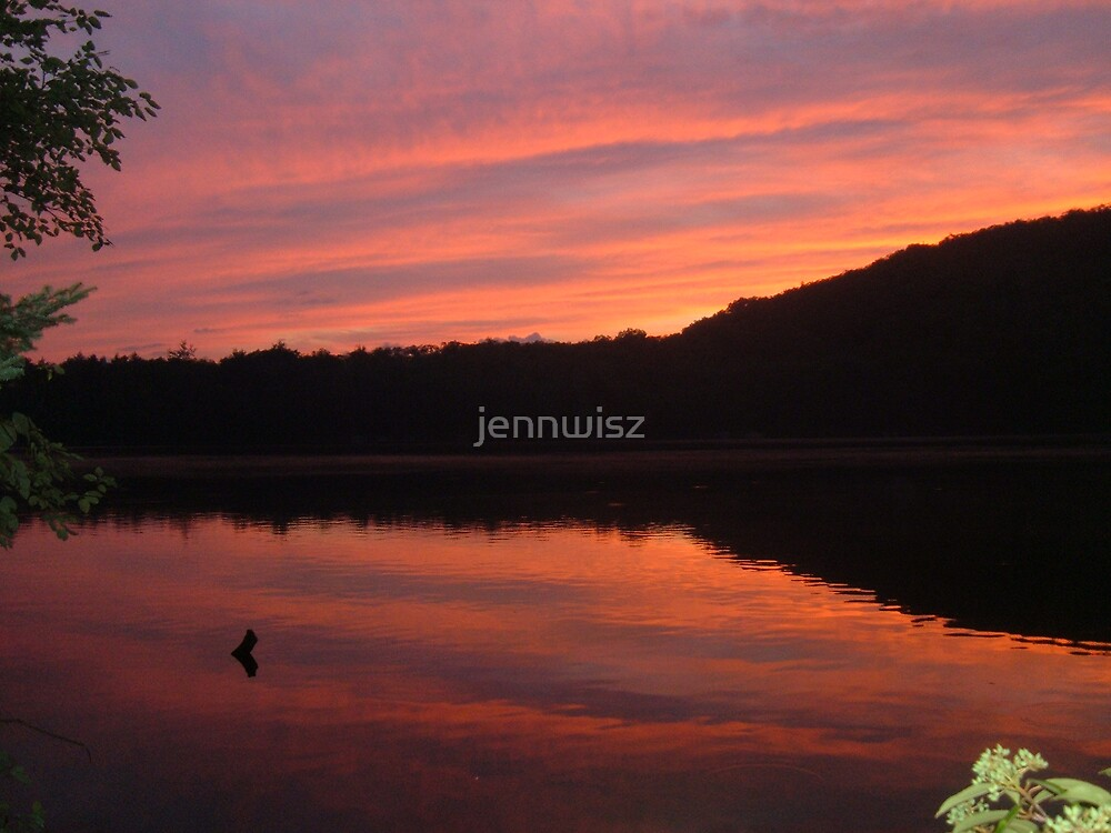 Russell Pond, NH by jennwisz