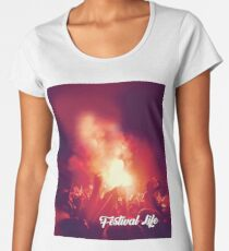 Festival life graphic tee 17 Women's Premium T-Shirt