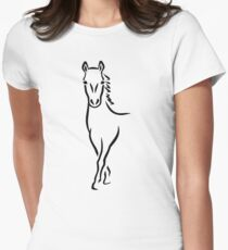 Horse Women's Fitted T-Shirt