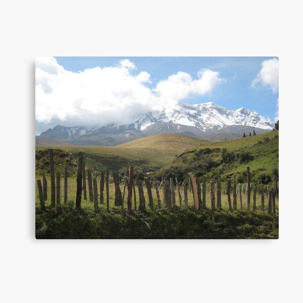 Chimborazo(1) Canvas Print