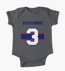 Butch Bouchard #3 - 1940s white jersey Kids Clothes
