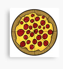 Pizza Pie Canvas Print