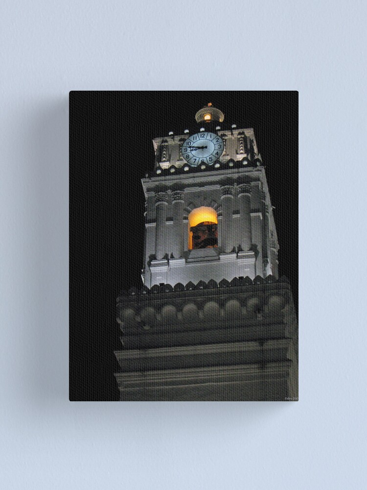Alternate view of Clock Tower Canvas Print