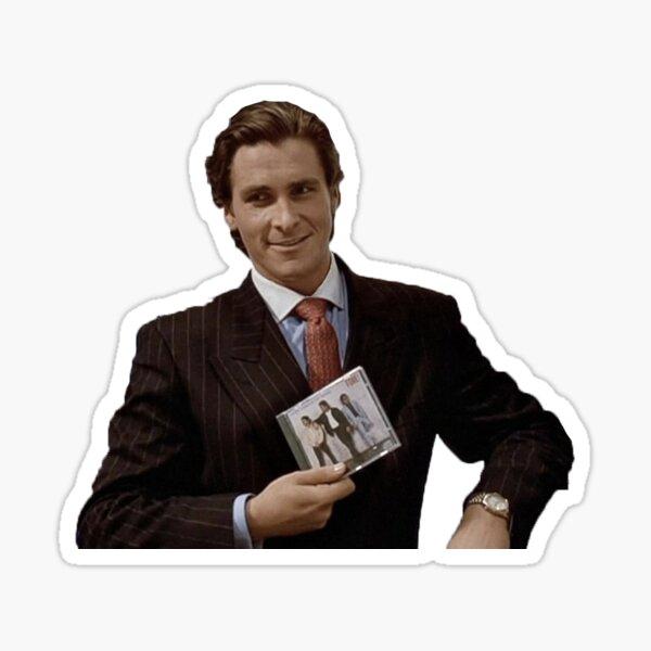 Patrick Bateman American Psycho FORE Sticker