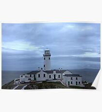 Fanad Head Lighthouse Co. Donegal Ireland Poster