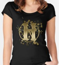 H Women's Fitted Scoop T-Shirt