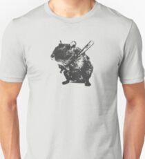 Angry street art mouse / hamster (baseball edit) Unisex T-Shirt