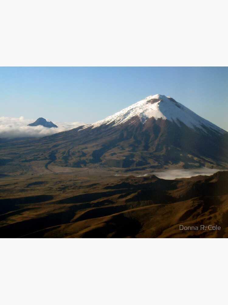 Cotopaxi from the Air by alwaysdrc