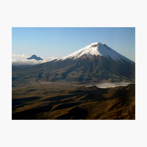 Cotopaxi from the Air Photographic Print
