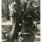 GG and her new friend, Koala by georgiegirl