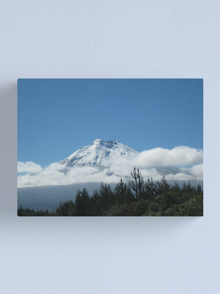 Alternate view of Cotopaxi Canvas Print