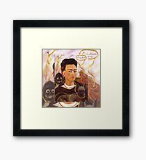 Frida Kahlo  Changuito Monkey Framed Print