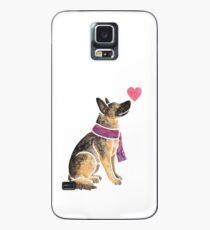 Watercolour German Shepherd Case/Skin for Samsung Galaxy
