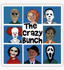 The Crazy Bunch Sticker