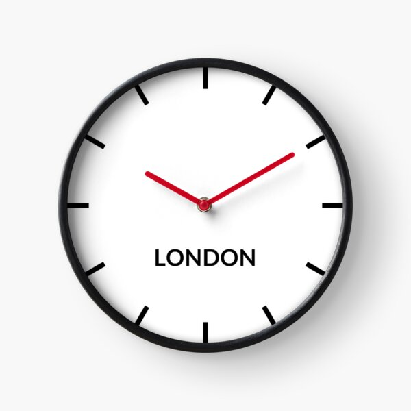 London, United Kingdom — Clock Uhr