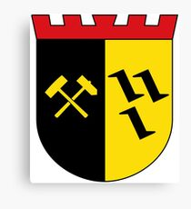 Gladbeck Coat of Arms, Germany Canvas Print