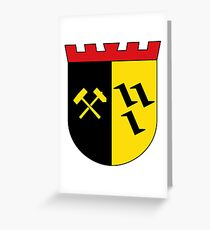 Gladbeck Coat of Arms, Germany Greeting Card