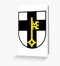 Dorsten Coat of Arms, Germany Greeting Card