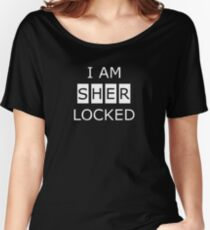 Sher Locked Women's Relaxed Fit T-Shirt