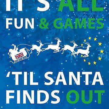 European Union - 'Fun & Games' Christmas Design Brexit by west12345
