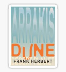 Arrakis - Dune - Desert Planet Sticker