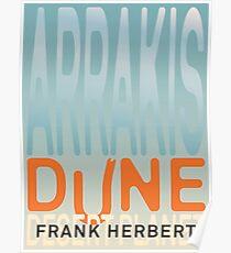 Arrakis - Dune - Desert Planet Poster