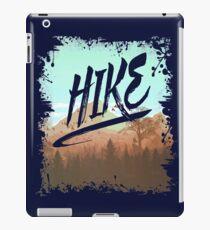 HIKE - I Love Hiking T-Shirt iPad Case/Skin