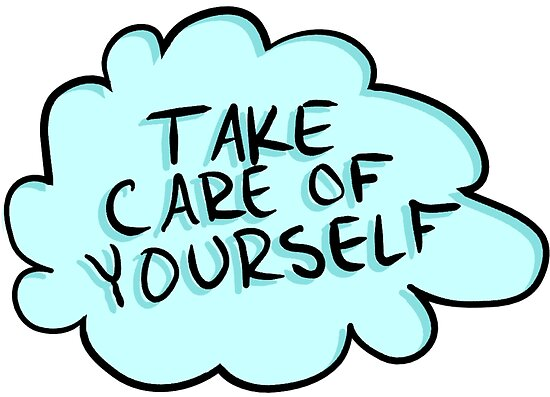 Image result for take better care of yourself clipart